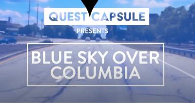 An American Artist & a Sculptor   Blue Sky Overview