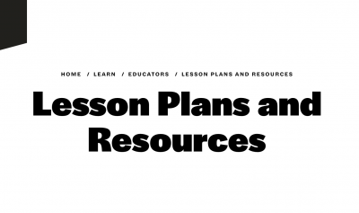 CMA Lesson Plans and Resources