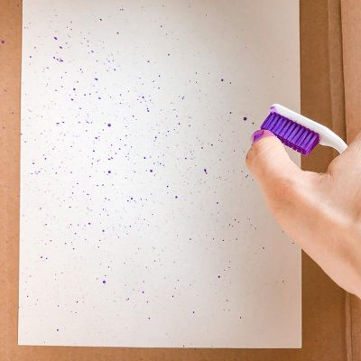 Art Activity: Splatter Painting