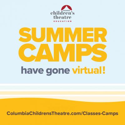 Columbia's Children's Theatre Virtual Summer Camps