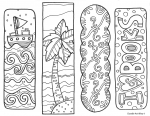 Color a Bookmark!