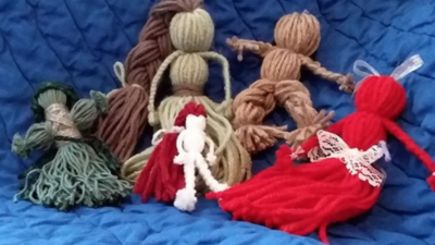 Create Your Own Yarn Dolls