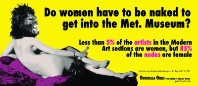 Guerrilla Girls: Art, Power, and Justice for All!