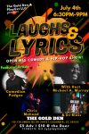 Laughs & Lyrics: Open Mic Comedy & Hip-Hop Show!