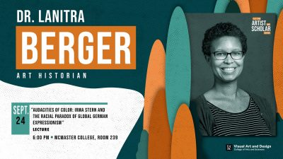 Visiting Artist and Scholar Series: LaNitra Berger...