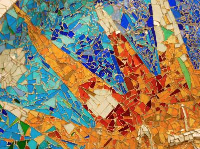 Art Lesson with Ms. Jennifer: Create a collage like Artist Antoni Gaudí
