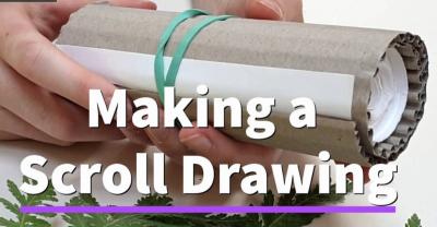 Making A Scroll Drawing
