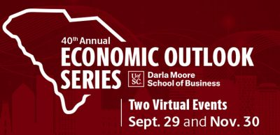 UofSC to host 40th Annual Economic Outlook Conference virtually on Sept. 29 and Nov. 30
