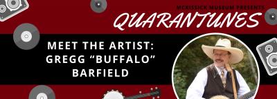 """Meet the Artist: Gregg """"Buffalo"""" Barfield"""