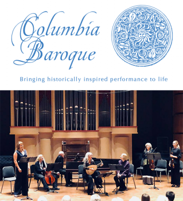 "Columbia Baroque Concert: ""La Musica Bella"""