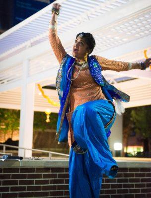 Plaza Rhythms: Garba Dance
