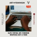 UofSC Virtual Art+Feminism Wikipedia Edit-a-thon