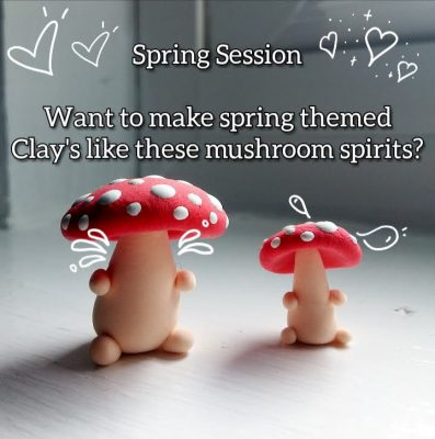 Spring Break Virtual Clay Class