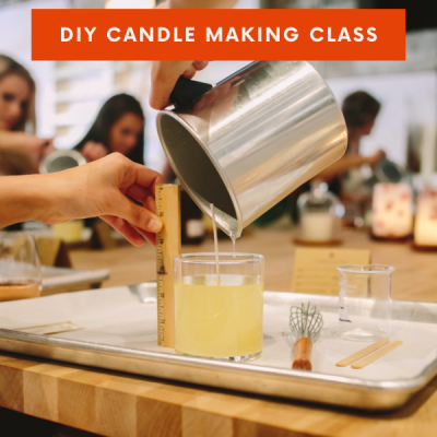 Do-It-Yourself (DIY) Candle Making Class