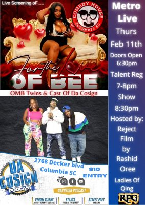 Metro Live Feat Bee Badd, OMB Twins & Cast Of ...