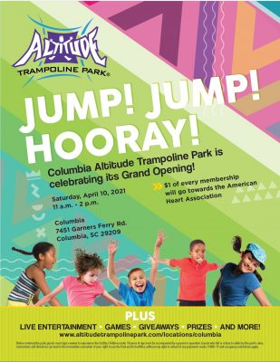 Columbia Altitude Trampoline Park Grand Opening