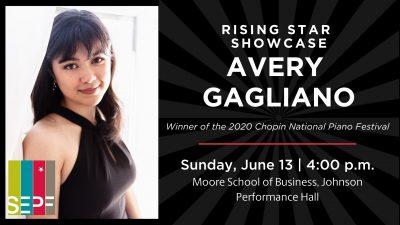 SEPF Rising Star Showcase - AVERY GAGLIANO