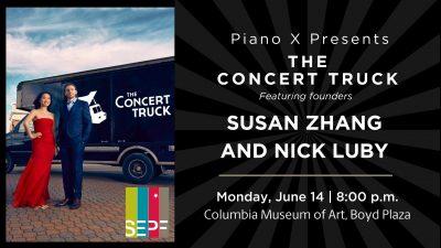 Piano X Presents – THE CONCERT TRUCK