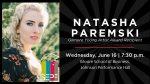 SEPF Artist Showcase – NATASHA PAREMSKI