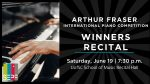 Winners' Recital – Arthur Fraser International Piano Competition