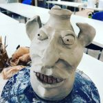 Making Faces: Learning About & Making Stoneware Face Jugs