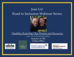 Road to Inclusion Webinar: Disability Road Map Film Preview and Discussion
