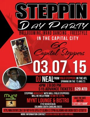 STEPPERS/BALLROOMERS   DAY PARTY