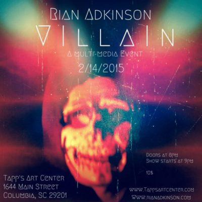 Rian Adkinson Live in Concert: A Multi-Media Event at Tapp's