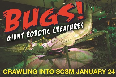 BUGS! Giant Robotic Creatures