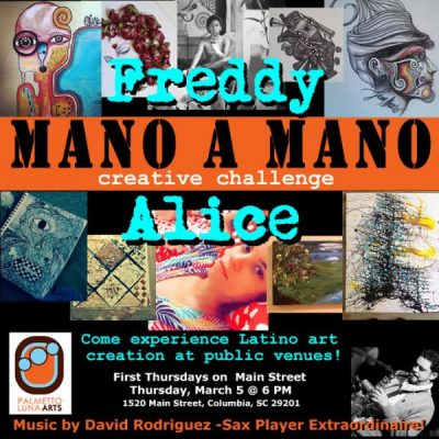 """Mano a Mano"" - featuring Alice Rodriguez and Freddy Ahuejote"