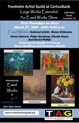 Large Works Extended Plus Easel Works Show