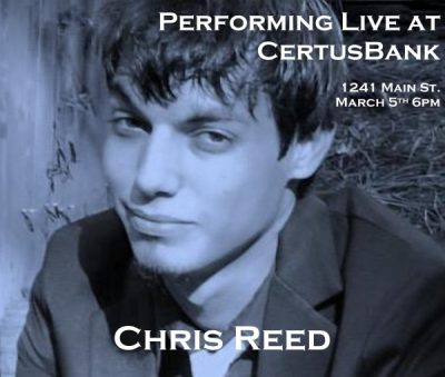 Chris Reed Performs Live at First Thursdays on Main