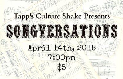 Tapp's Culture Shake Presents: Songversations