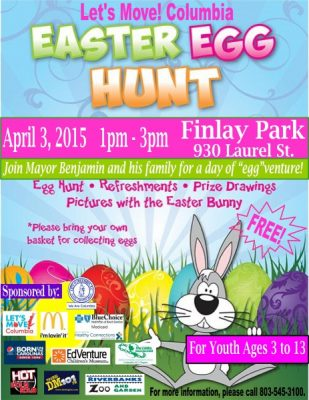 Let's Move Columbia Easter Egg Hunt!