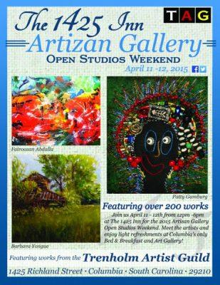 The 1425 Inn Artizan Gallery Open Studios Weekend