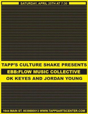 Culture Shake Presents: ebb:flow + OK Keyes + Jordan Young