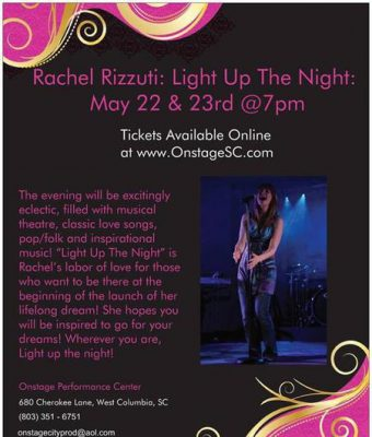 Rachel Rizzuti: Light up the Night
