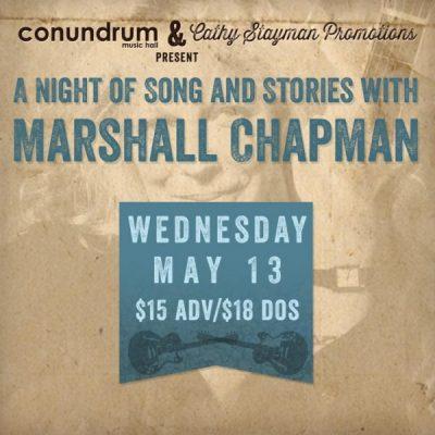 Marshall Chapman