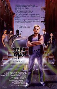 """P.O.V. FILM SERIES SCREENS """"Repo Man"""" AT TAPP'S"""