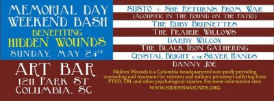 Memorial Day Weekend Bash Benefiting Hidden Wounds