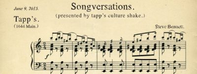 Tapp's Culture Shake Presents: Songverations