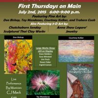 """TAG's July First Thursday on Main """"Easel Works"""" Show"""