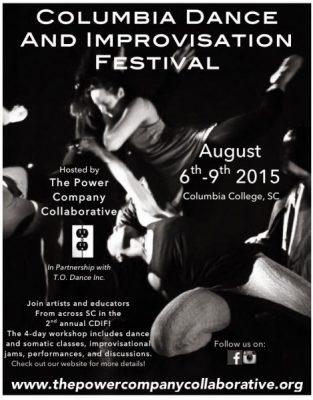 Columbia Dance and Improvisation Festival Public Performance