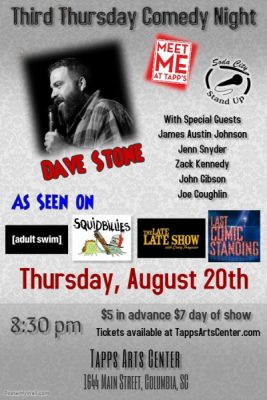 Third Thursday Comedy Night featuring Dave Stone