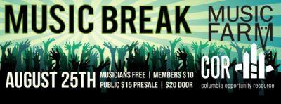 COR presents Music Break! Featuring Dirty Dozen Brass Band & Guests