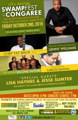 BBQ Blues & Jazz Concert featuring Lenny Williams Second Nature & Guests