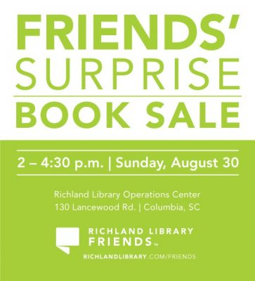 Friends' Surprise Book Sale