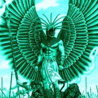 The Aztec Warrior on Main Street!
