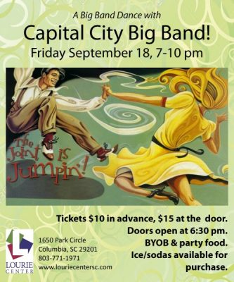 Lourie Center Presents Capital City Big Band Dance