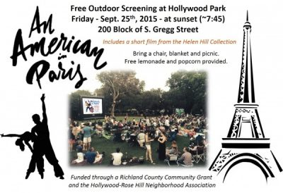 [CANCELLED] An American in Paris - Outdoor Screening at Hollywood Park